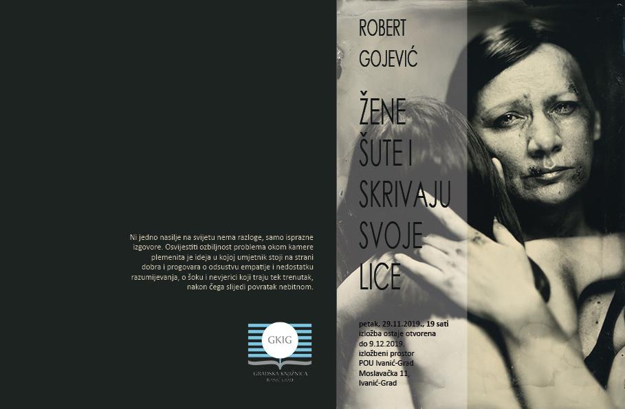 """Izložba fotografija """"Žene šute i skrivaju svoje lice"""" Roberta Gojevića"""